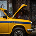 Repaired taxi