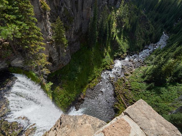 Brink of Tumalo Falls