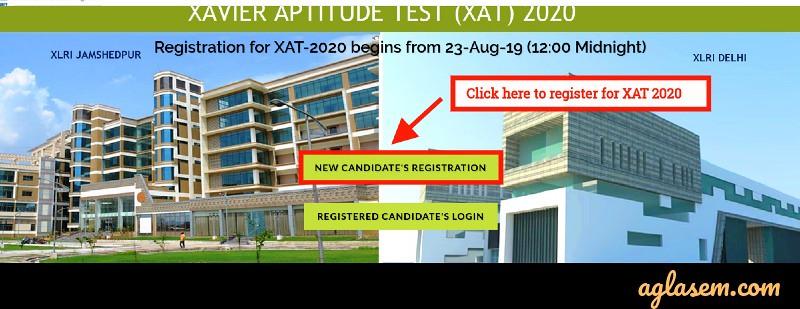 Xat 2020 registration