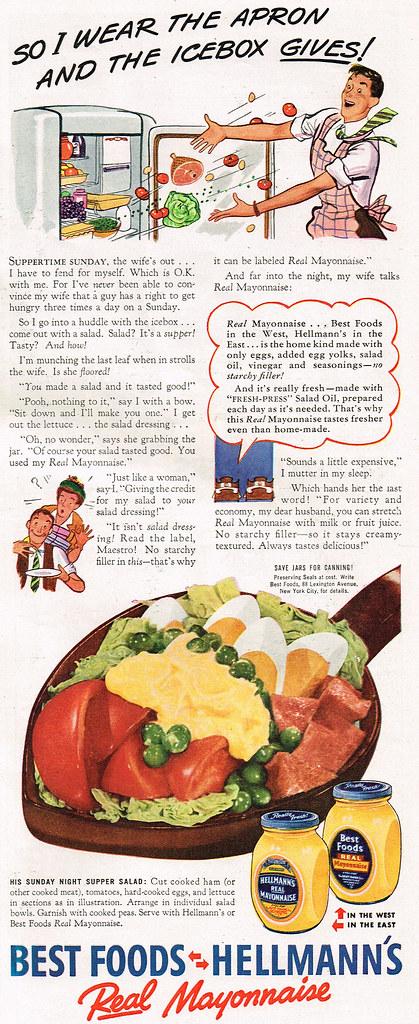 Best Foods, Hellmann's 1942