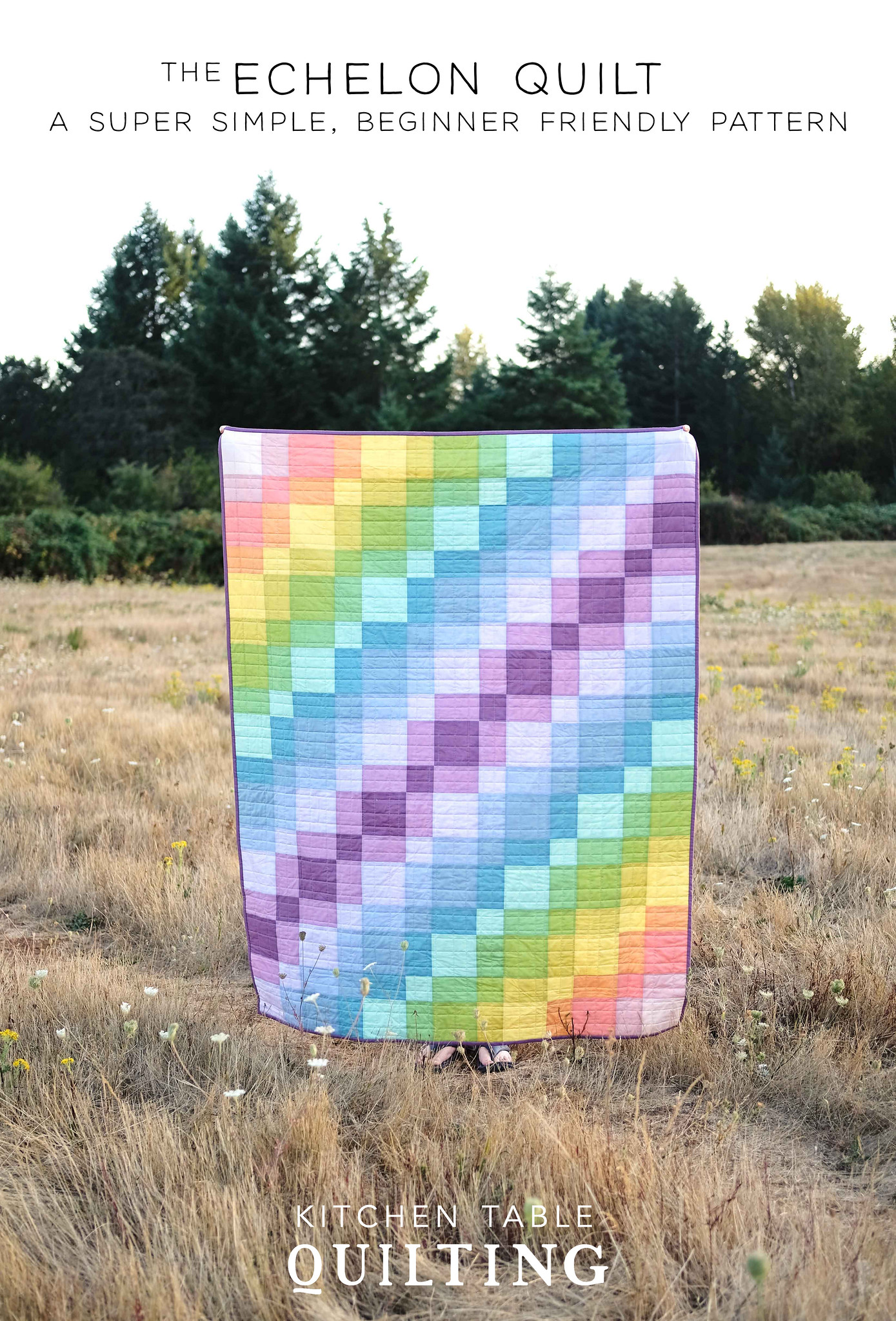 The Echelon Quilt Pattern - Kitchen Table Quilting