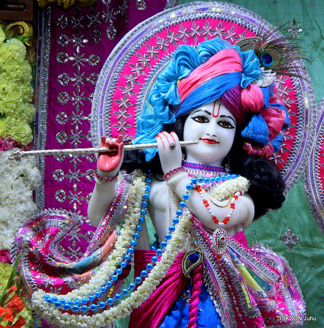 ISKCON Juhu Sringar Deity Darshan on 23rd Aug 2019