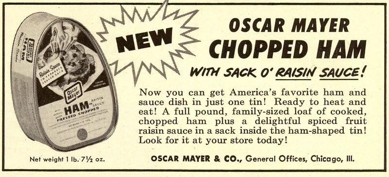 Oscar Mayer 1952