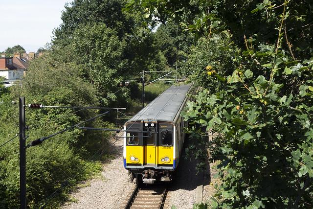 Overground Train, Romford to Upminster Branch