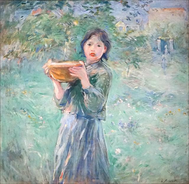 La jatte de lait de Berthe Morisot (Musée d'Orsay, Paris)