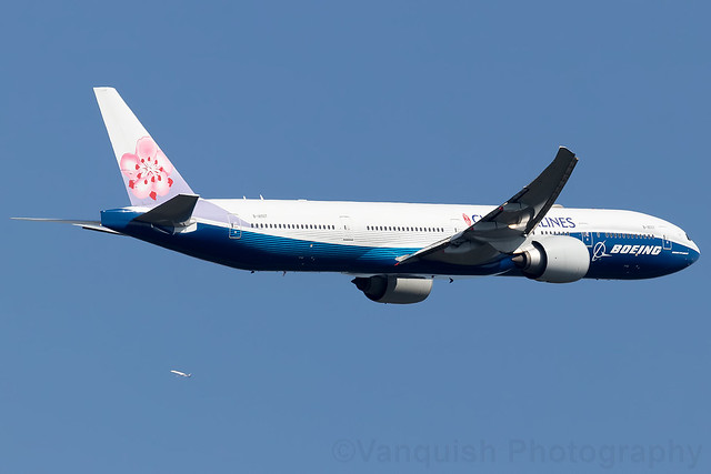 B-18007 China Airlines Boeing House Colours B777-300 Frankfurt Airport