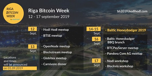 Riga Bitcoin Week 2019 | by ycgpxdkx46