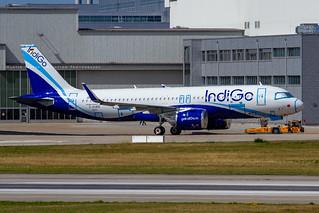 D-AUBQ // IndiGO // A320-271N // MSN 9079 // VT