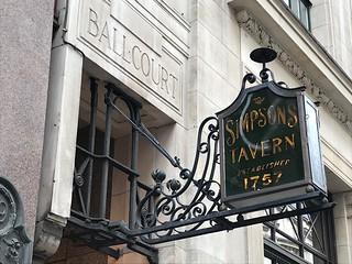 Sign of Simpson's Tavern