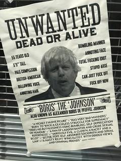 Unwanted Dead or Alive, Boris the Johnson