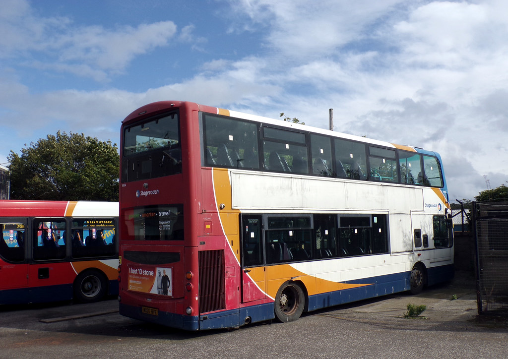 Stagecoach North Scotland 16954 MX07BVE (22nd August 2019)