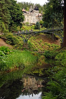 Cragside reflection or spot the photographer
