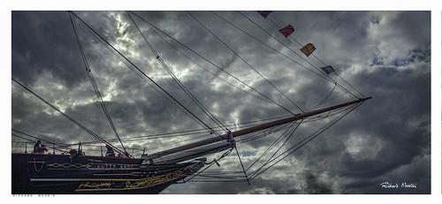 Cutty Sark, London, In Summer