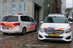 Dutch police vehicles