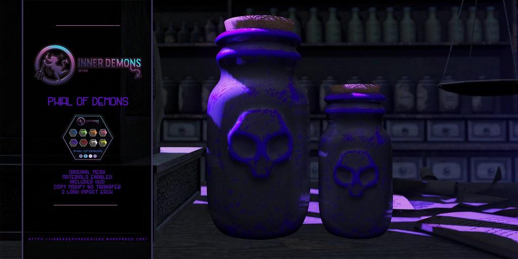 {ID} Phial of Demons - TeleportHub.com Live!