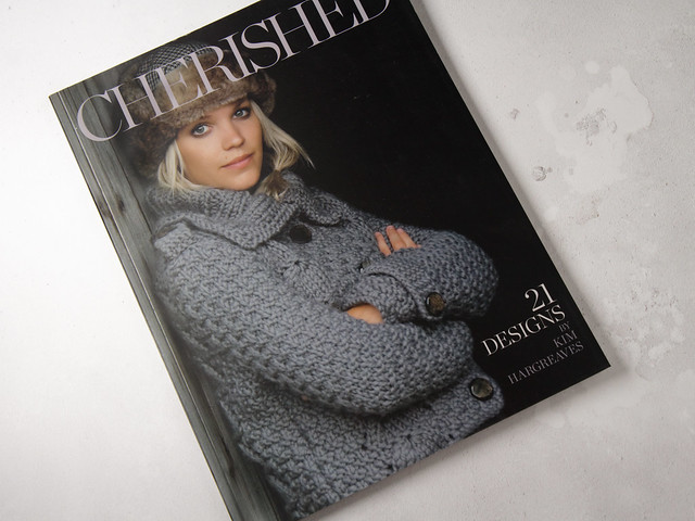 Pre-owned book: Cherished – 21 Designs by Kim Hargreaves