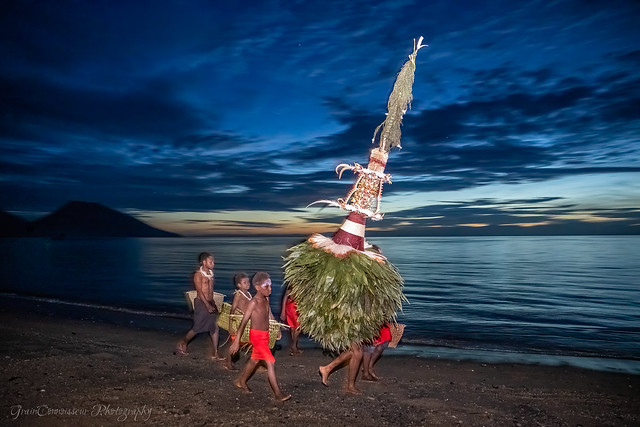 Opening of Rabaul Mask Festival, PNG