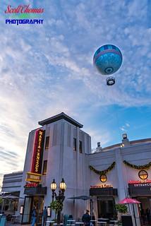 Balloon and Disney Springs Restaurant