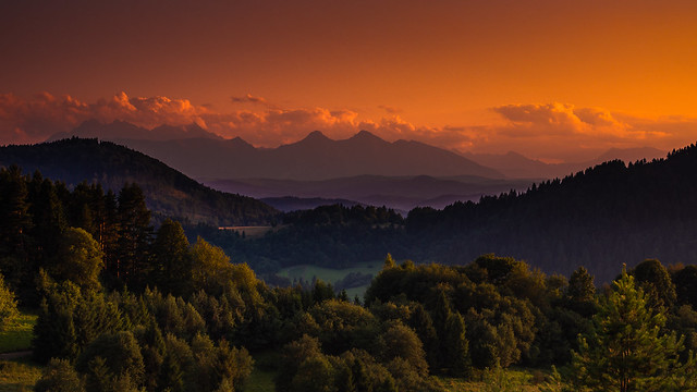Tatras from Palenica