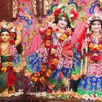 ISKCON Kolkata Deity Darshan 23 Aug 2019