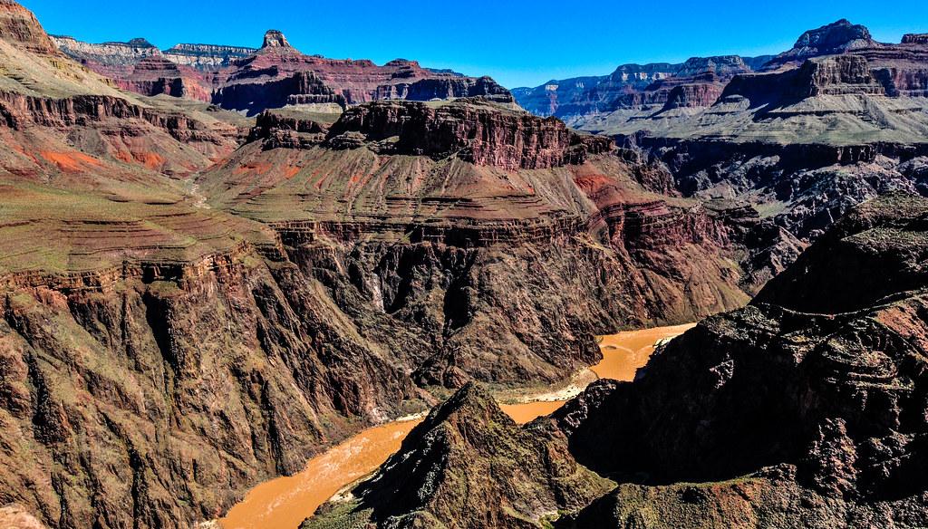 Inside the Grand Canyon, Arizona, USA   グランド・キャニオンの中にいた時、アリゾナ州、アメリカ合衆国