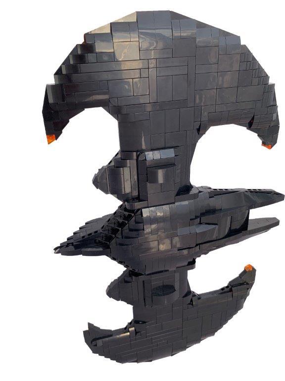 Lego moc Batwing 1:20 scale