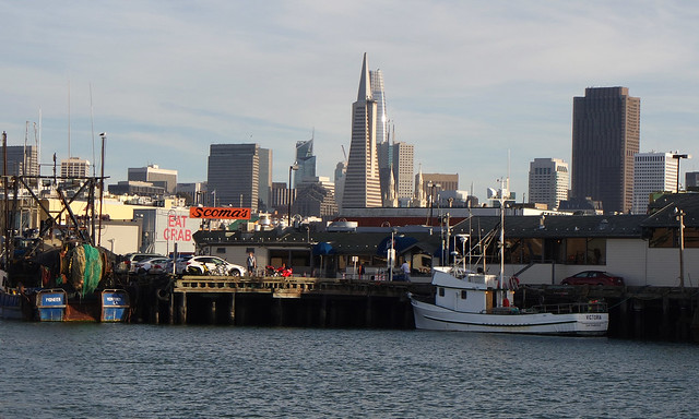 SF Skyline from Fisherman's Wharf