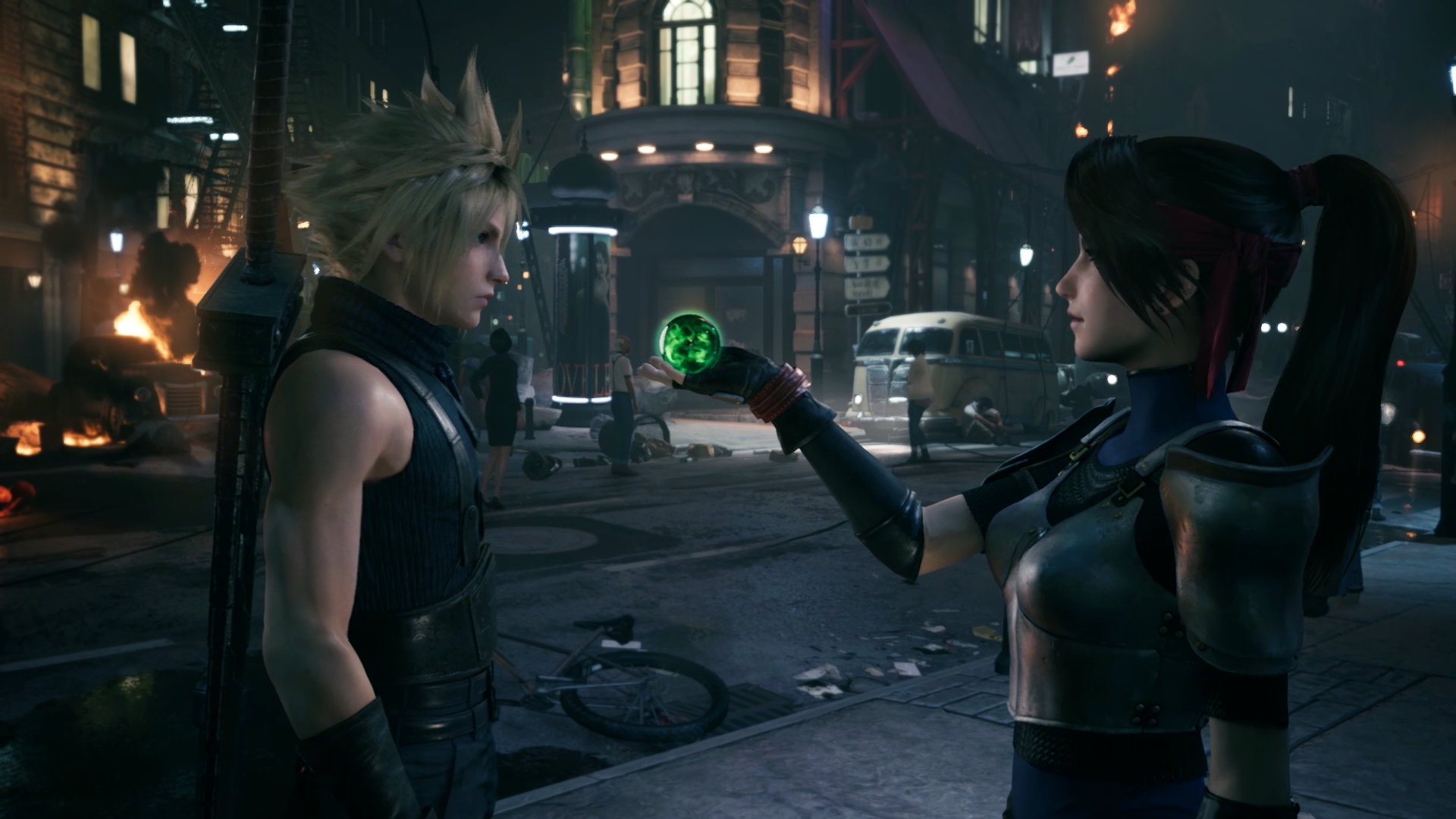 Final Fantasy VII Remake on PS4
