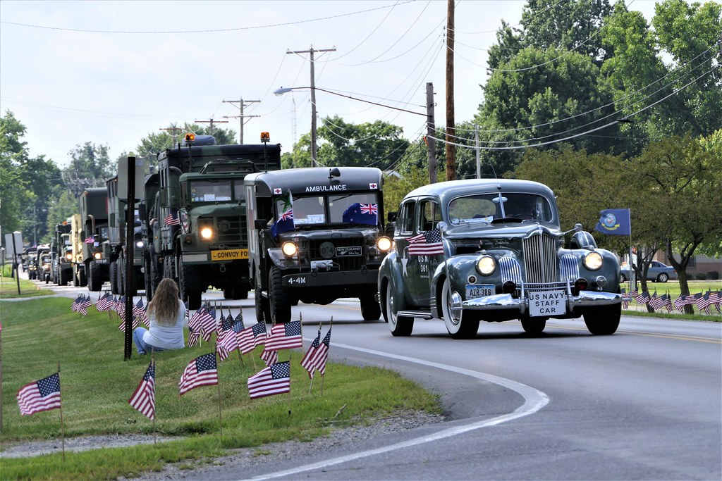 US Vehicle Convoy