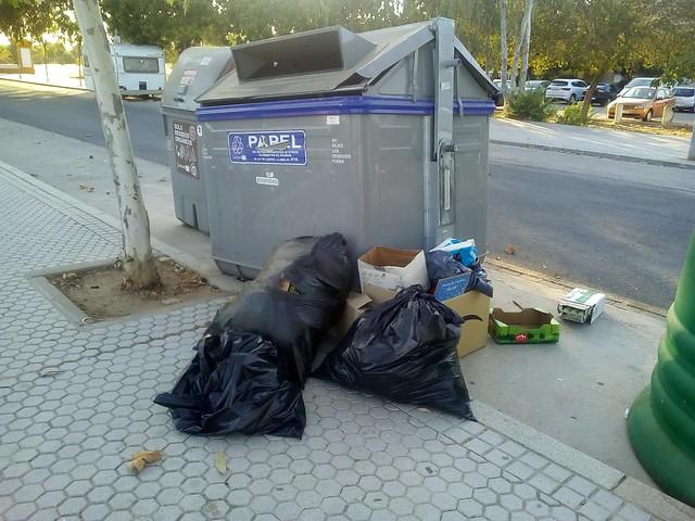 Abandono del barrio de Bellavista