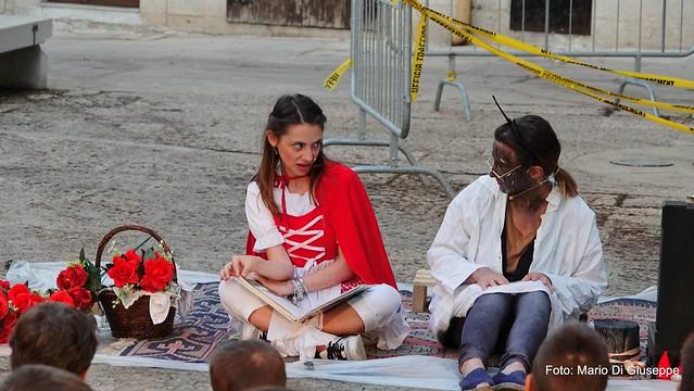 """Gioia del Colle: """"Cappuccetto rosso"""" con Ribalta Gaia"""