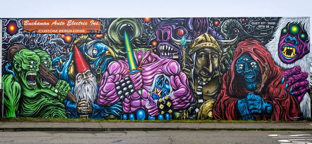 West Oakland Mural