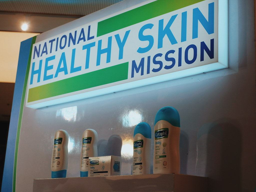 The Cetaphil National Healthy Skin Mission with Sarah Labahti, Laureen Uy and Miggy Cruz.