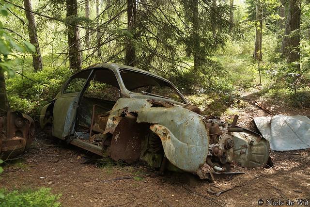 Kyrkö Mosse - Saab 96