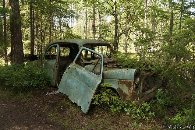 Kyrkö Mosse - Ford Anglia 100E