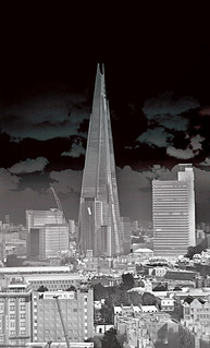 The Shard in thermal infrared