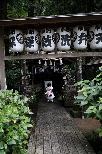 箱根登山鉄道の銭洗弁天様