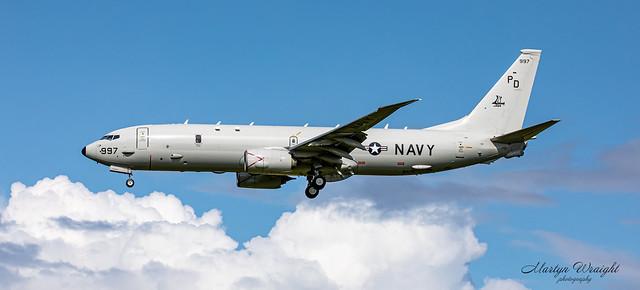 US Navy Boeing P8 Poseidon  VP-9
