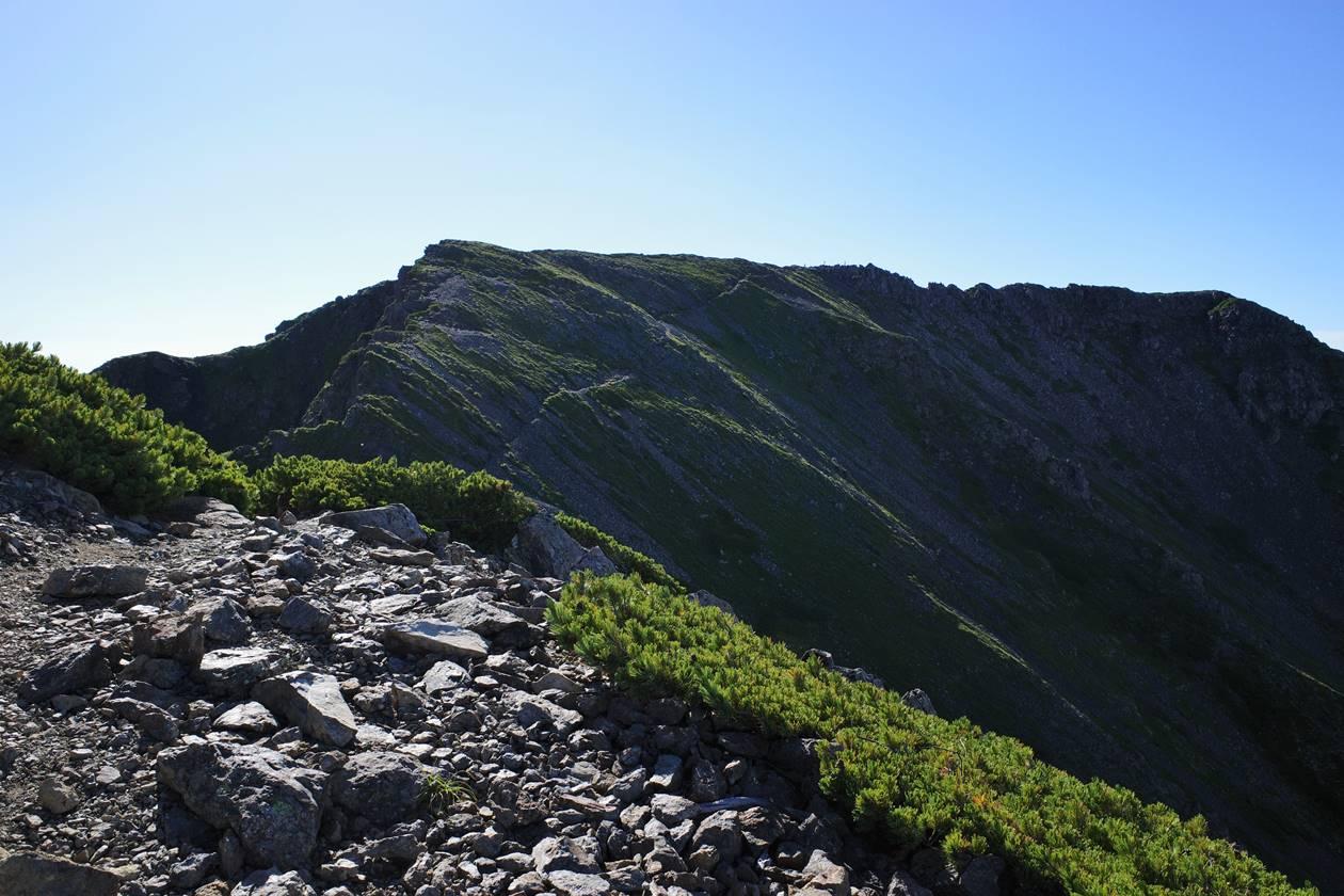 農鳥岳登山