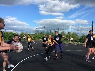 One Coventry Plan Annual Performance Report 2018-19 66 Workplace wellbeing - Corporate Netball Tournament