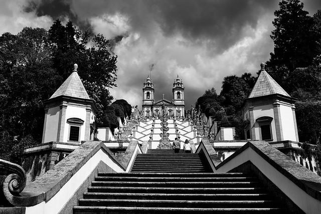 Sanctuary of Bom Jesus do Monte, in Braga, Portugal