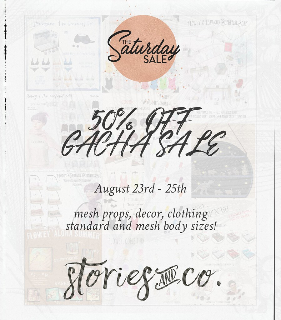 Stories&Co. for Saturday Sale 8/24 - TeleportHub.com Live!