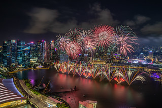 Fireworks Display of NDP 2019