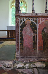 rood screen: St Paul (early 15th Century)