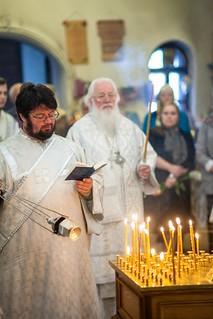 23.08.2019 | Литургия в церкви Лазаря Четверодневного на Западном кладбище