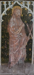 rood screen: St Andrew (early 15th Century)