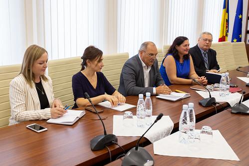 23.08.2019 Întrevederea reprezentanților Secretariatului Parlamentului cu delegația Centrului național de informații juridice a Republicii Belarus