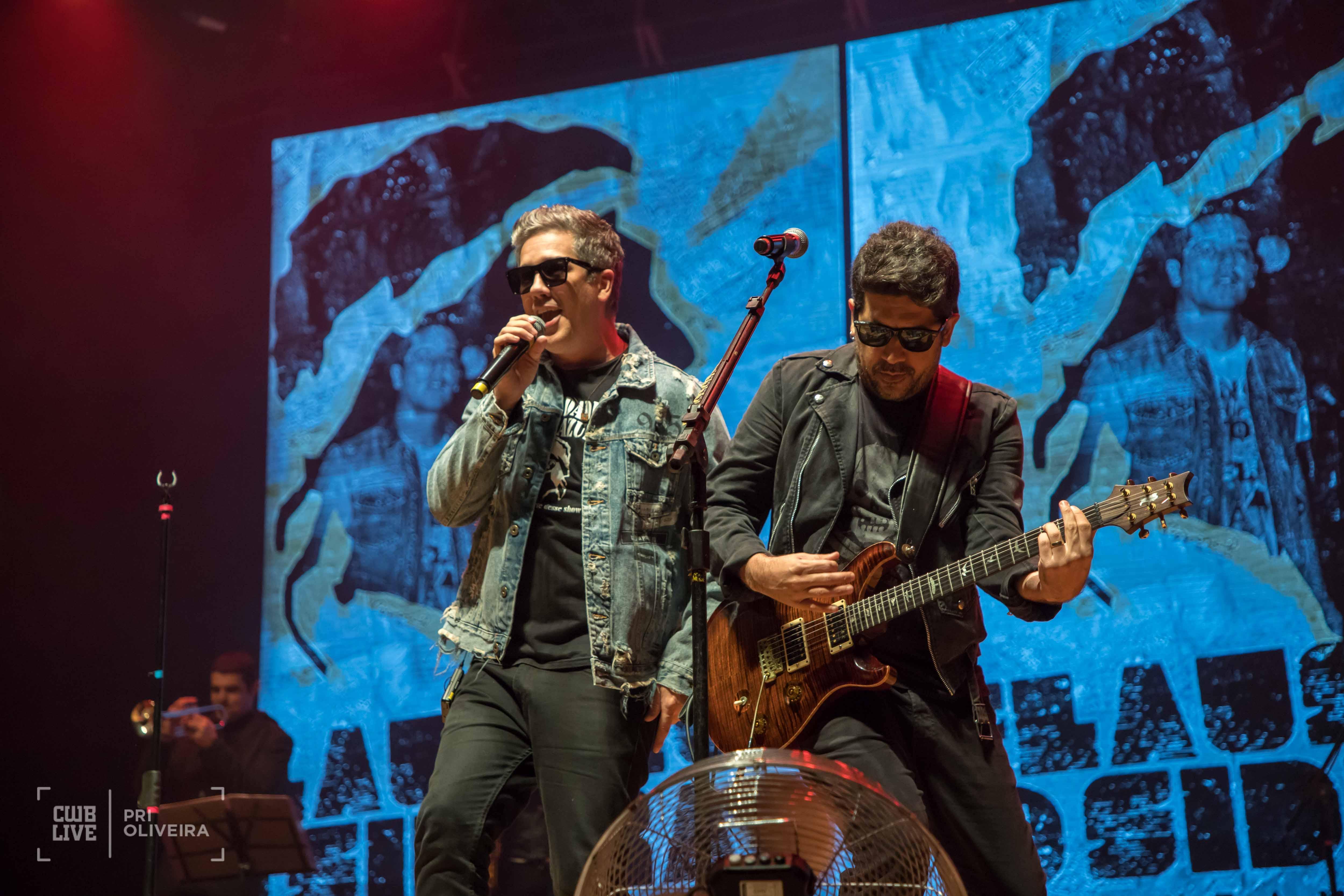 Rogério Flausino & Wilson Sideral Cantam Cazuza - Lançamento do Prime Rock Brasil 2019