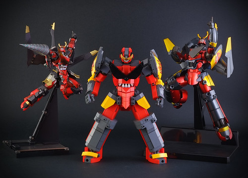 Gurren Lagann: Riobot, Konami and my Lego version