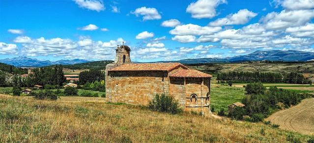 Ermita de Santa Eulalia. Palencia.